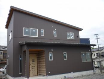 川棚町I様邸新築工事。